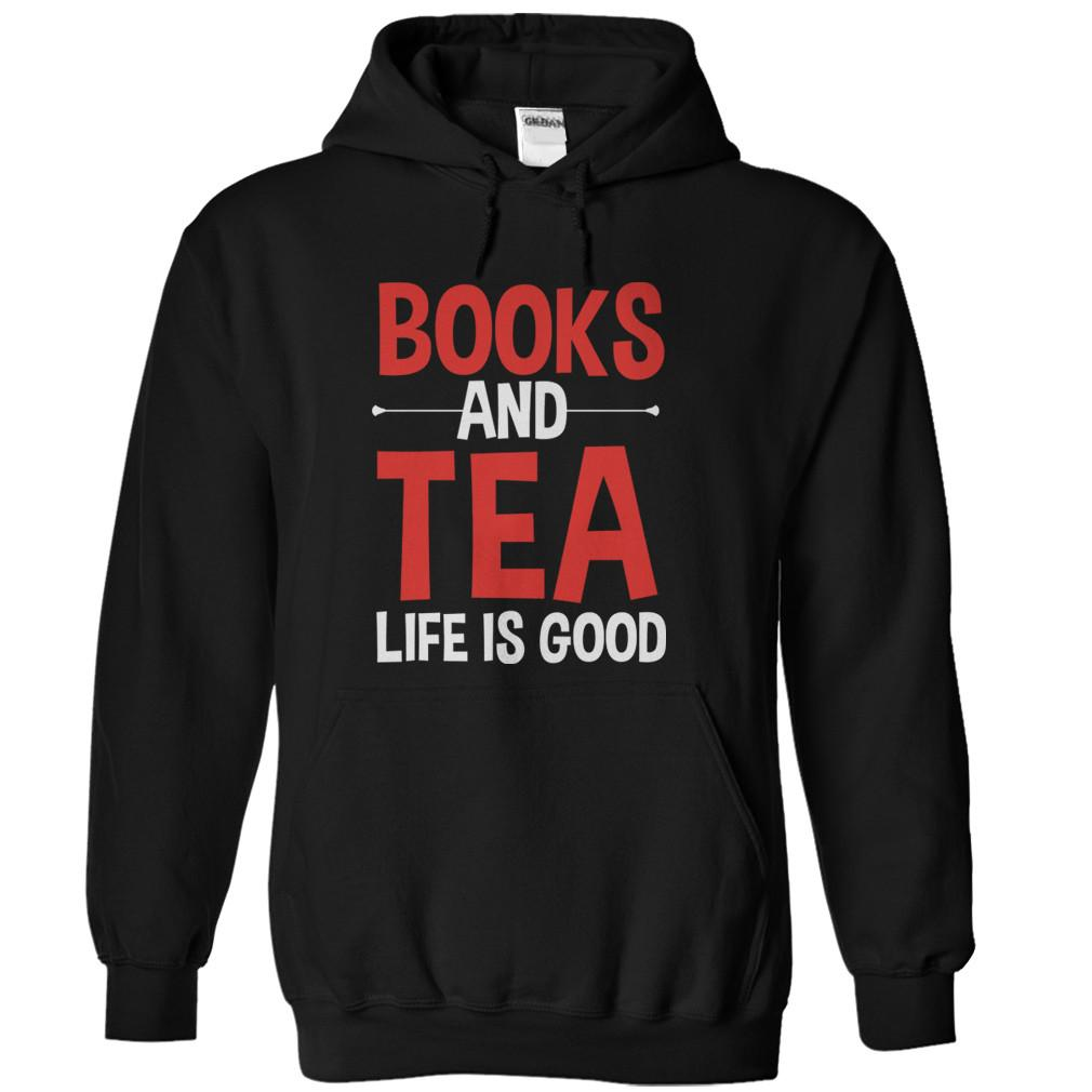 Books and Tea. Life Is Good