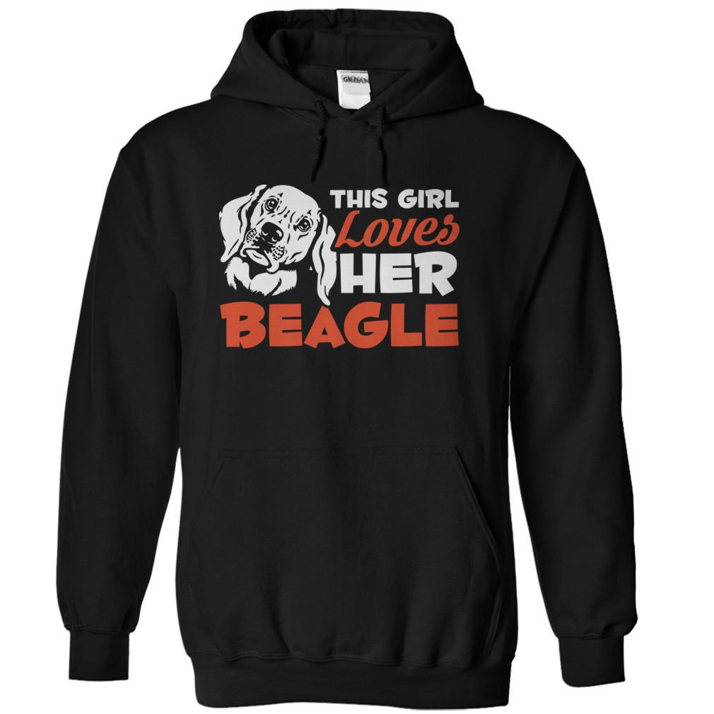 This Girl Loves Her Beagle