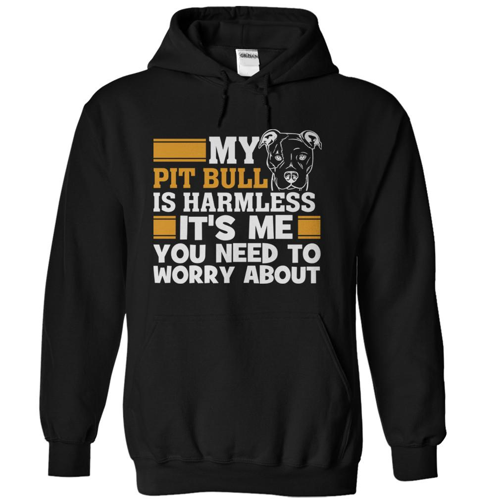 My Pit Bull Is Harmless. It's Me You Need To Worry About.