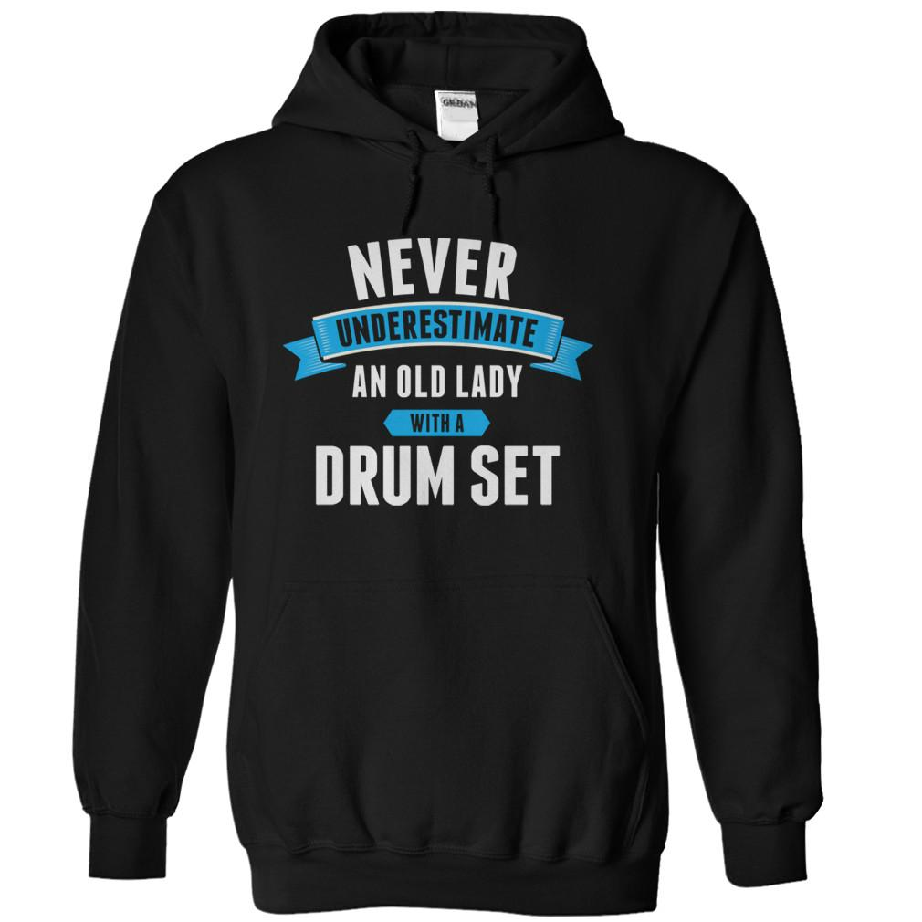 Never Underestimate An Old Lady With A Drum Set