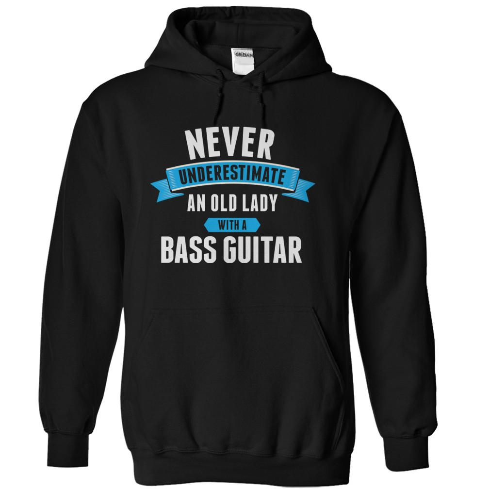 Never Underestimate An Old Lady With A Bass Guitar
