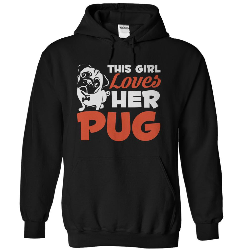 This Girl Loves Her Pug