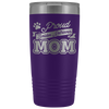 Dog Mom Tumbler Golden Retriever Dog Mom Gift 20 Oz Tumbler To Go Coffee Mug For Dog Mama Insulated Tumbler Mothers Day Tumbler Cup - TUB-21