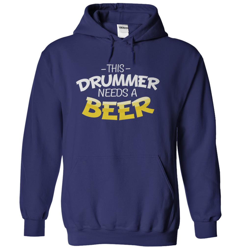 This Drummer Needs A Beer
