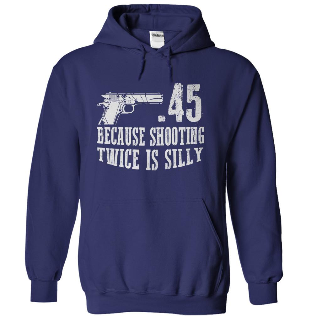 .45 Because Shooting Twice is Silly