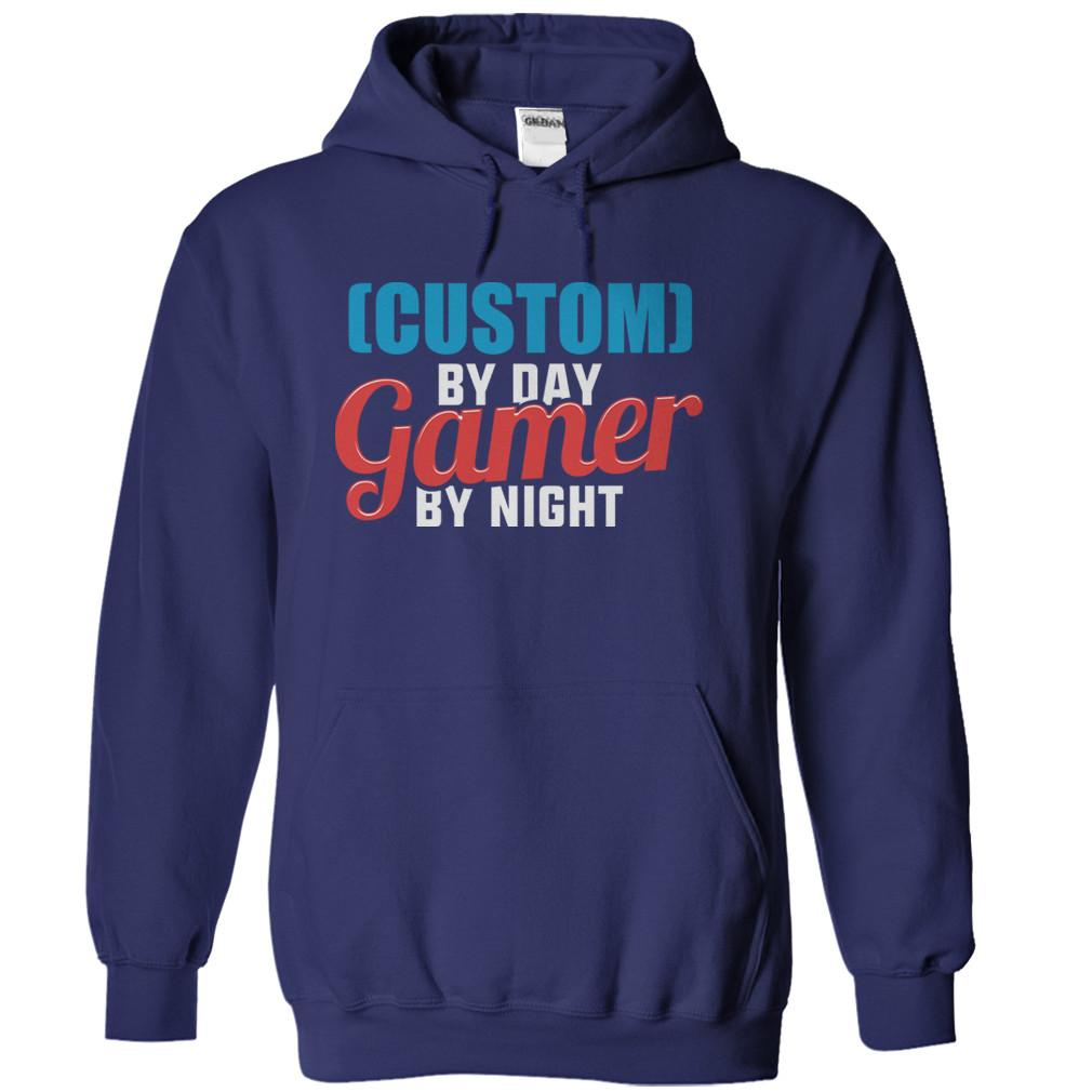 (Custom) By Day. Gamer By Night - Personalized
