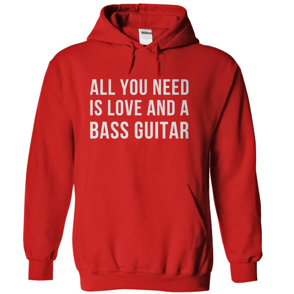 All You Need Is Love And A Bass Guitar