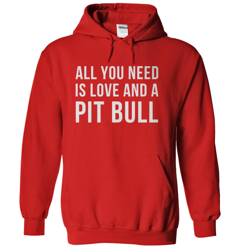All You Need Is Love And A Pit Bull