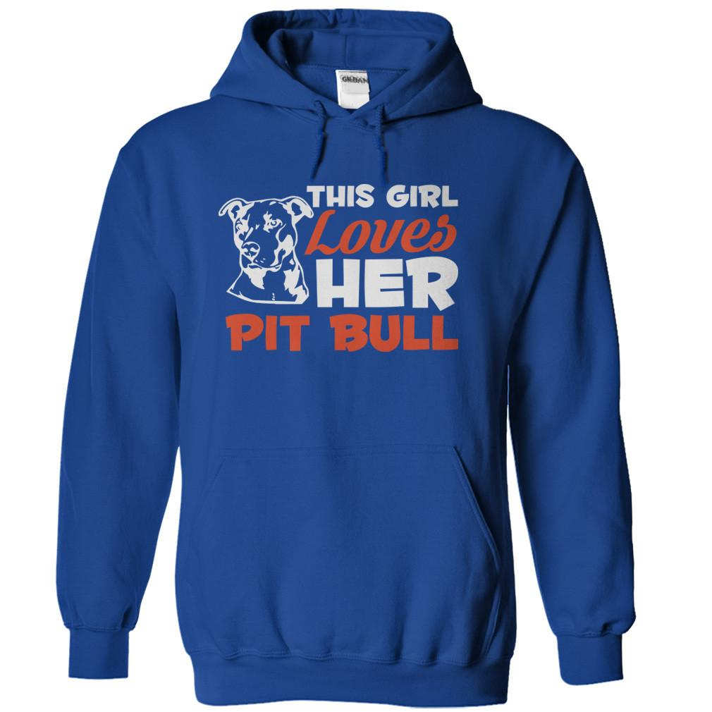 This Girl Loves Her Pit Bull