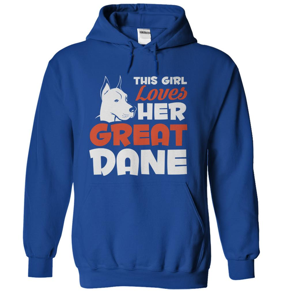 This Girl Loves Her Great Dane