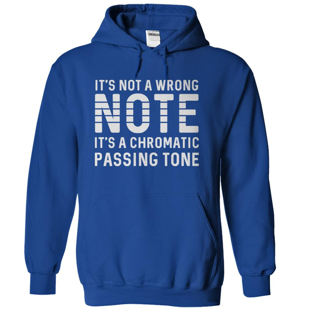 It's Not A Wrong Note. It's A Chromatic Passing Tone.