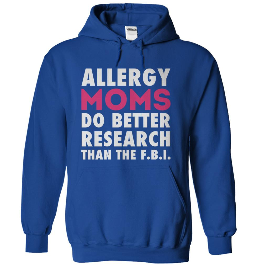 Allergy Moms Do Better Research Than The F.B.I.