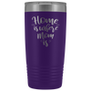 Coffee Travel Mug For Mom Tumbler 20 Oz Insulated Tumbler For Her Mommy Tumbler To Go Coffee Mug Tea Tumbler Travel Coffee Cup - TUB-26