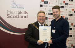Federation Diploma for Butcher Robbie Henderson
