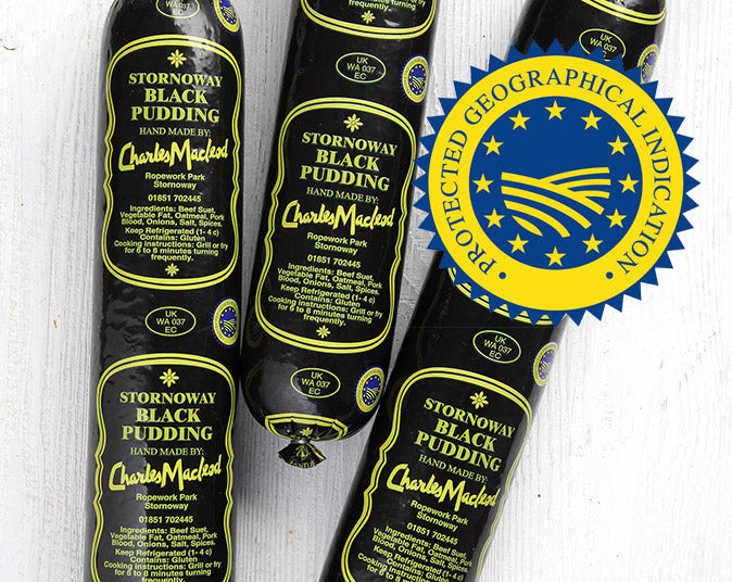 Stornoway Black Pudding Protected Geographical Status