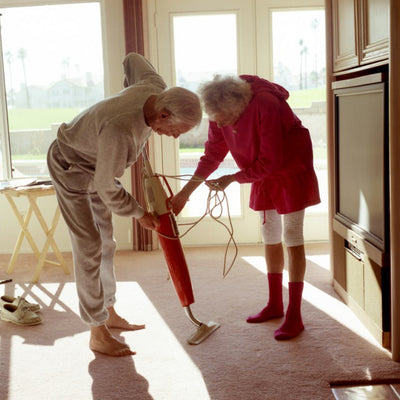 Fall Inspiration: Larry Sultan's Parents in Sweatsuits