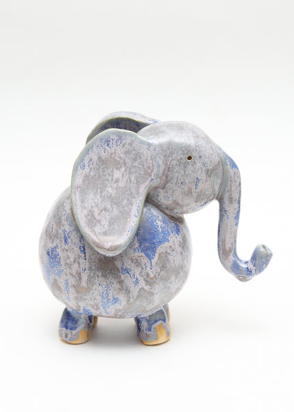 Elephant - Blue and Purple
