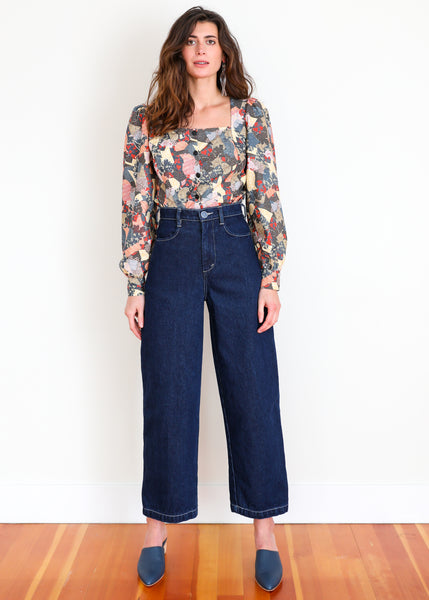 Placer Pant - Dark Denim