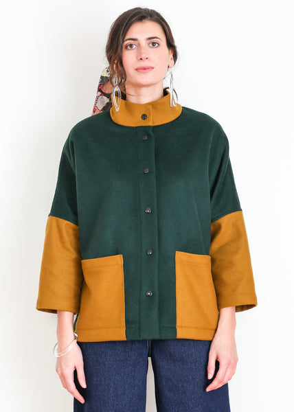 Marram Jacket - Pine and Honey
