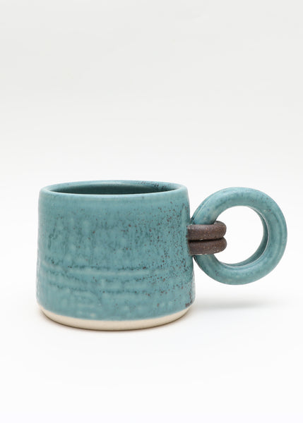 Loop Handle Mug - Turquoise