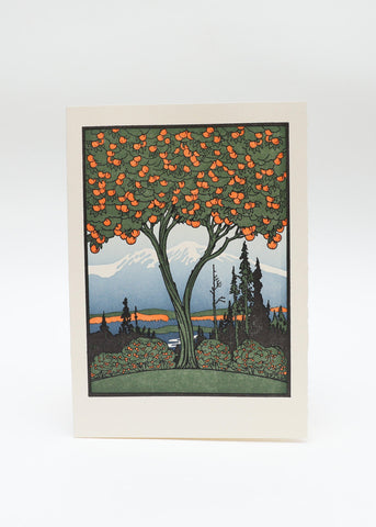 Orange Tree Card