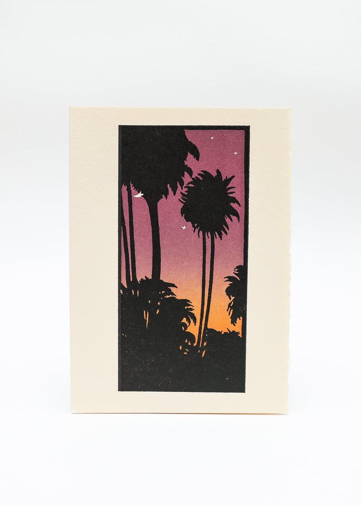 Tropical Dusk Card