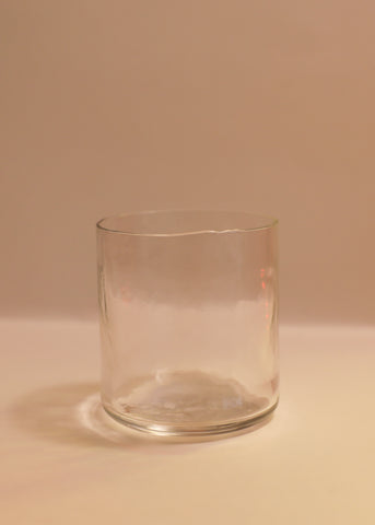 Salon Tumbler - Clear glass