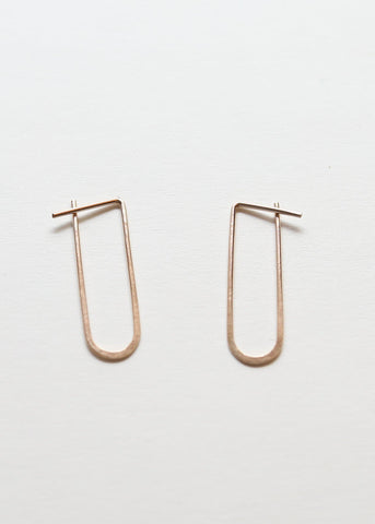 Oro Hoops Large - Lila Rice