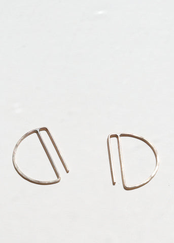 Lila Rice Mini Deco Hoops
