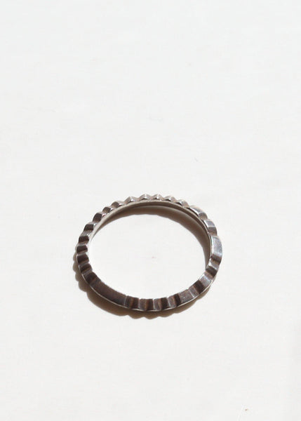 File Ring - Sterling Silver