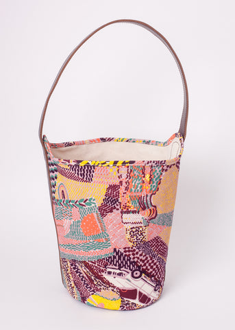 Bucket Bag - Tamboro // Wine