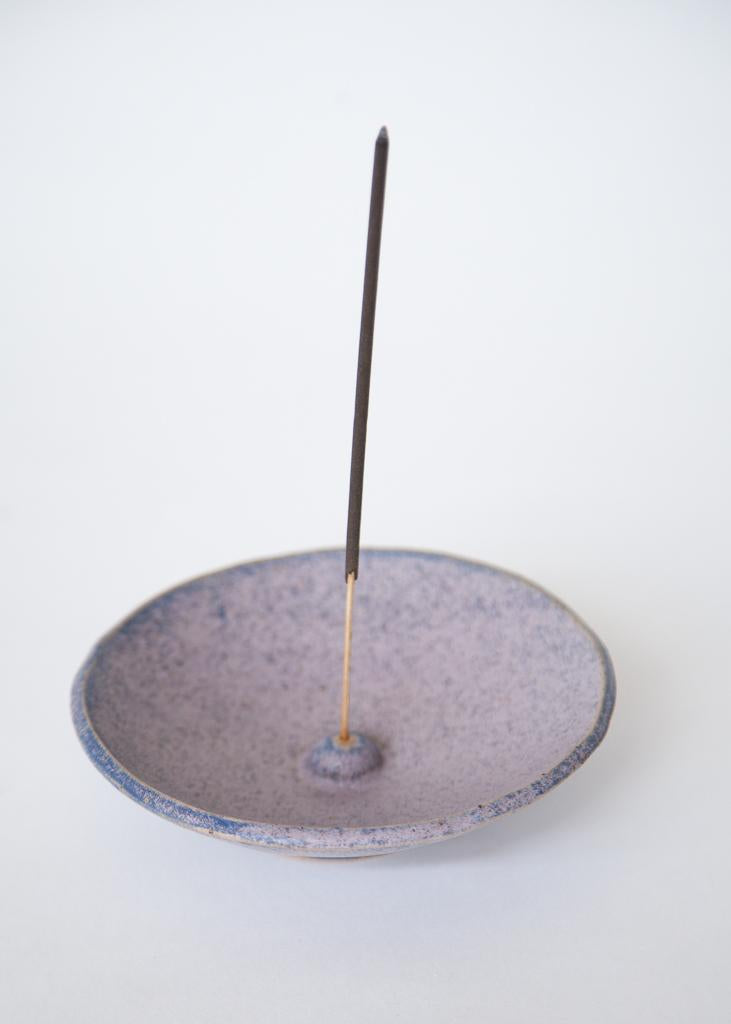 Incense Bowl Purple