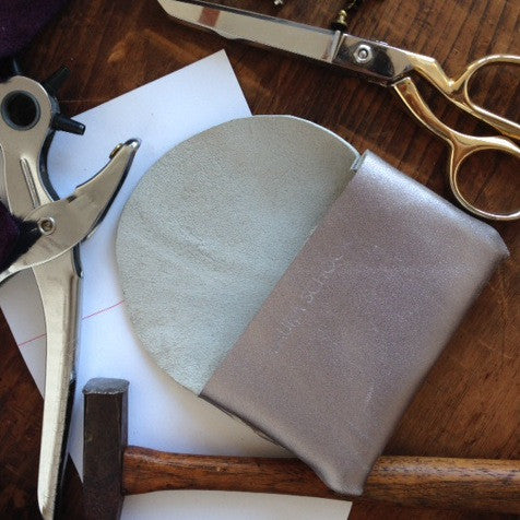 Leather Pouch Making Workshop