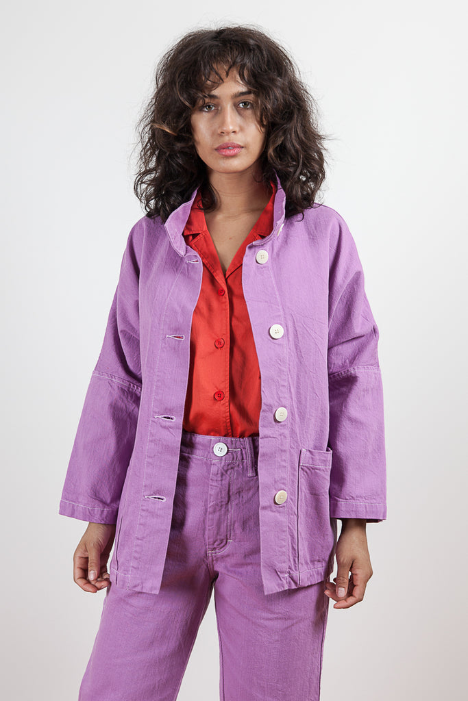 Marram Jacket - Jacaranda