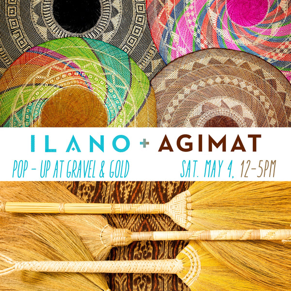 POP UP! With Ilano design + Agimat