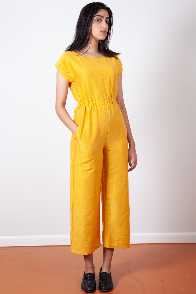 Rush Jumpsuit - Gold