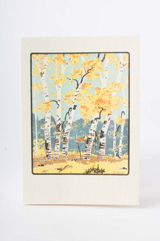 Autumn Dunes Card