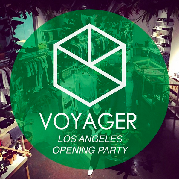 *TONIGHT* Voyager LA Opening Party