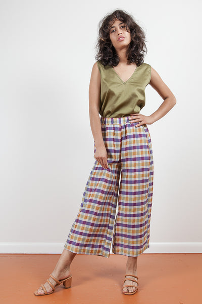 Set Pant - Spring Plaid