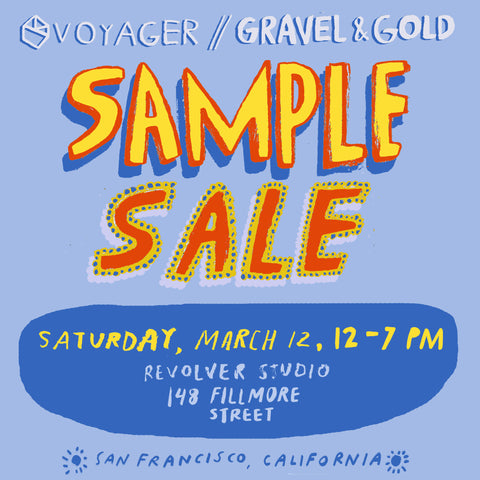 Sample Sale with Voyager