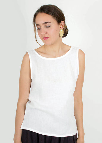 Corylus Top - White
