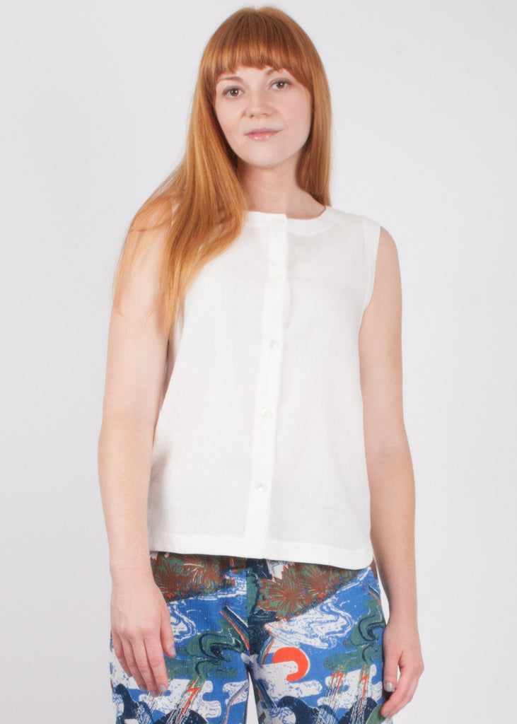 Yarrow Tank - White