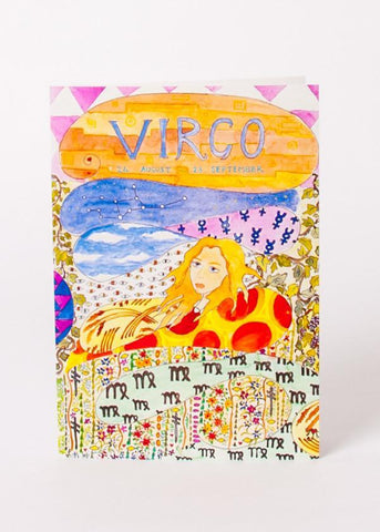 Zodiac Card - Virgo