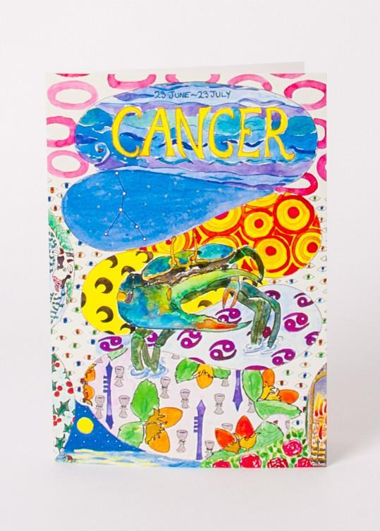 Zodiac Card - Cancer