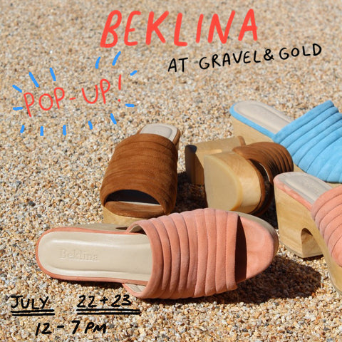 Beklina Pop Up at Gravel & Gold