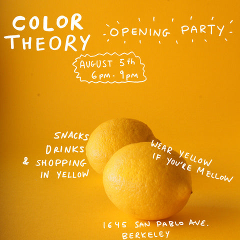 Color Theory Opening Party