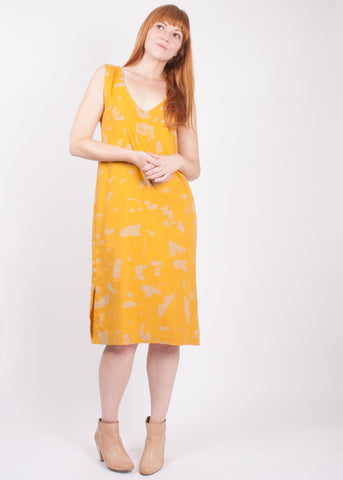 Correa Dress - Marks // Turmeric