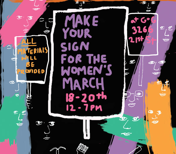 Make Your Sign for the Women's March!