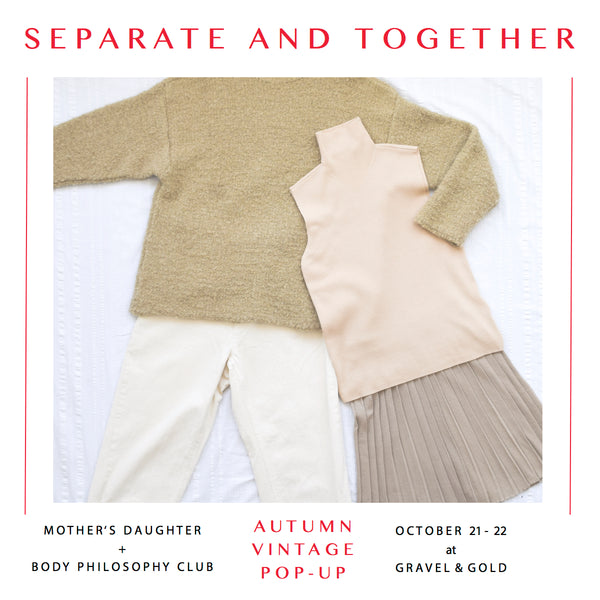 Separate and Together Pop-Up