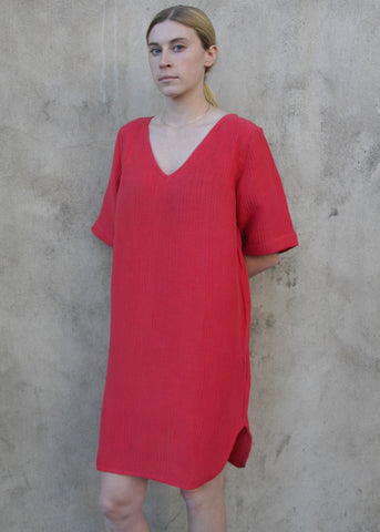 Vallauris Dress - Tomato